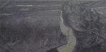 Zeitatmen XV/1, 2013, 75x150cm